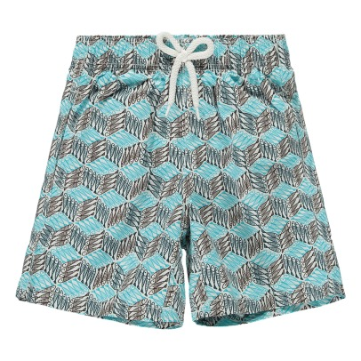 Vilebrequin Badehose Fishes Cube -listing