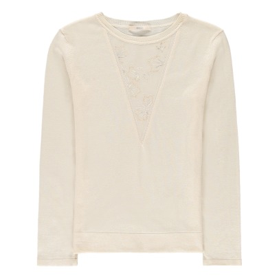 Sessun Astoria Embroidered Detail Jumper-listing