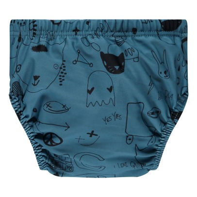 Soft Gallery Miki Graffiti Swimming Trunks-product