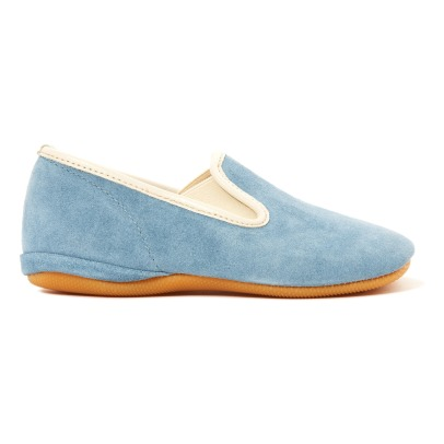 Gallucci Suede Elasticated Slippers-listing