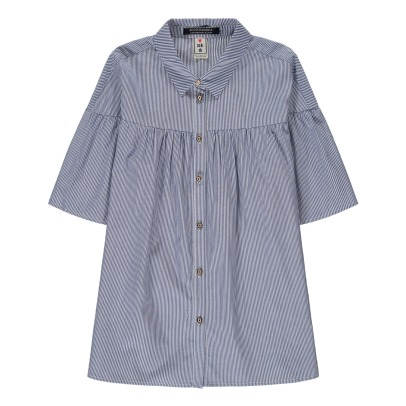 Scotch & Soda Pleated Stripe Shirt-product