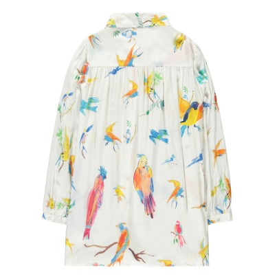 G.KERO Bird Allover Blouse-listing