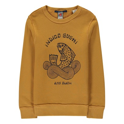Scotch & Soda Sweat Indigo Sushi-listing