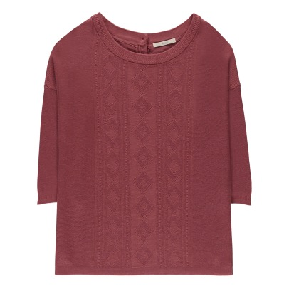 Sessun Mony Oversized Cable Knit Jumper-listing