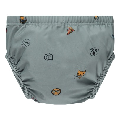 Soft Gallery Miki Emoji Swimming Trunks-listing