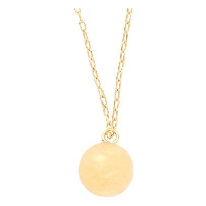 Collar Latón Dorado Oro Fino Soho