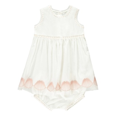 Stella McCartney Kids Gabby Embroidered Shell Dress + Bloomers-listing