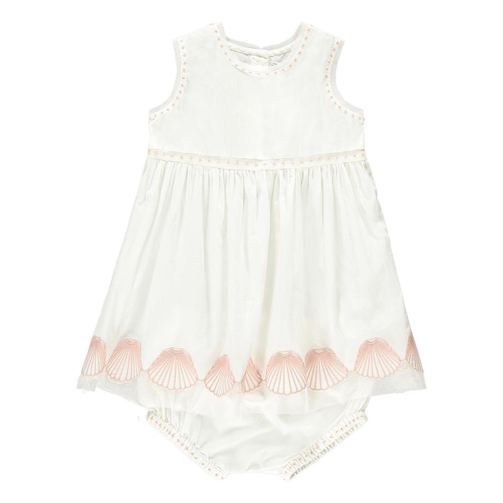 Sale - Bellie Shell Mesh Dress + Bloomers - Stella McCartney Kids Stella McCartney Cheap Price Outlet With Credit Card e6OHkXS81B