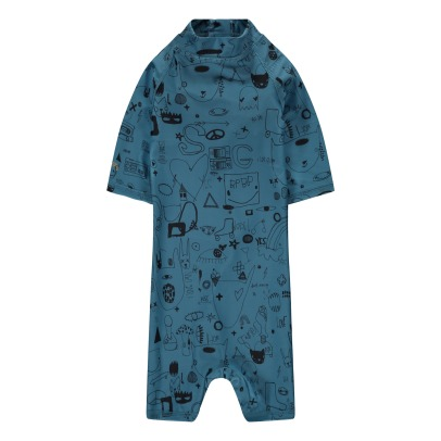 Soft Gallery Rey UV Protective Graffiti Jumpsuit-listing