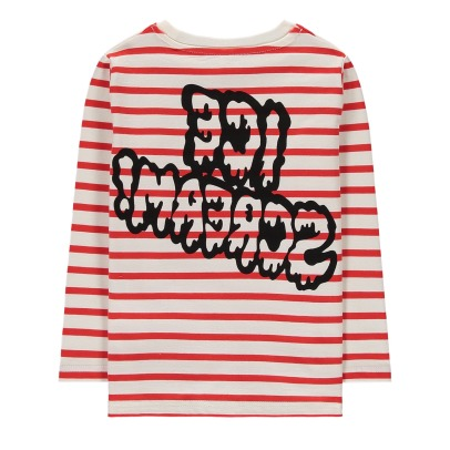 "Stella McCartney Kids Rock ""Ice Scream"" Organic Cotton Marinière-listing"