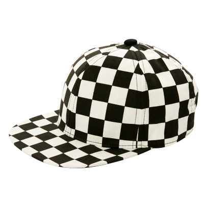 Stella McCartney Kids Casquette Damier Preston-listing