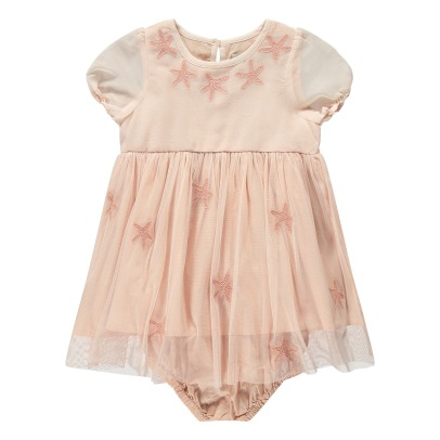 Stella McCartney Kids Robe Tulle Etoiles de Mer Brodées + Bloomer Maria-product