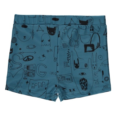 Soft Gallery Don Graffiti Swimming Trunks-listing
