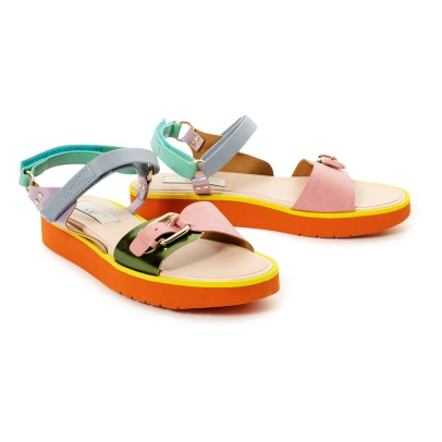 Stella McCartney Kids Sandali in pelle Snazzy -listing
