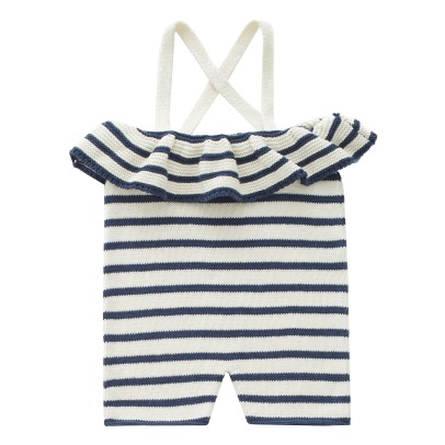 Oeuf NYC Striped Dungarees-listing