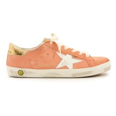 product-Golden Goose Deluxe Brand Superstar Gold Back Suede Low Top Trainers