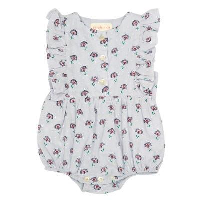 Simple Kids Barboteuse Fleurs-listing