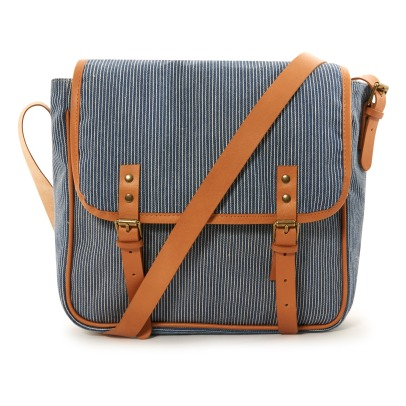 Bonton Striped Saddlebag-listing