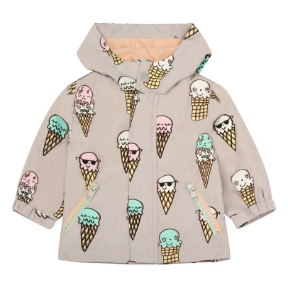 Stella McCartney Kids Coupe-Vent Imperméable Glaces Couleurs Changeantes au Soleil Eve-listing