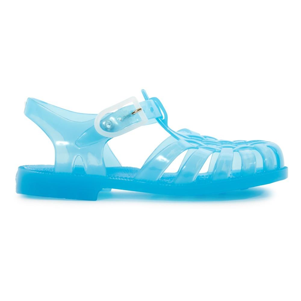 Sandales enfant en plastique bleu ciel - Bleu - 24 gdx7JeG