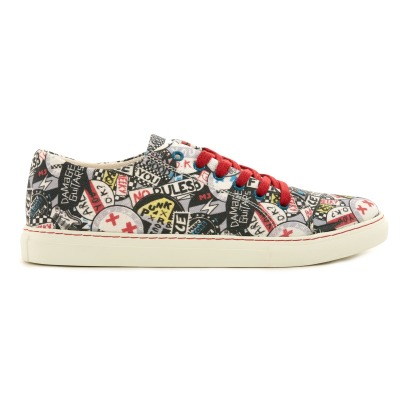 Little Marc Jacobs Graffiti Punk Trainers-listing