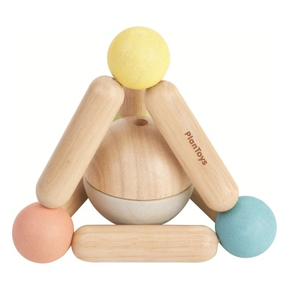 Plan Toys Pastel Triangle Rattle-listing