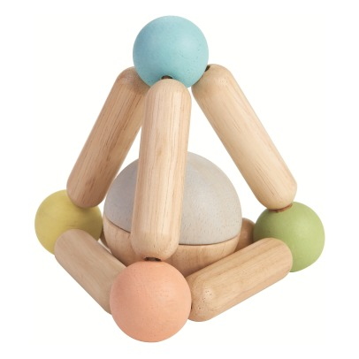 Plan Toys Hochet triangle pastel-listing