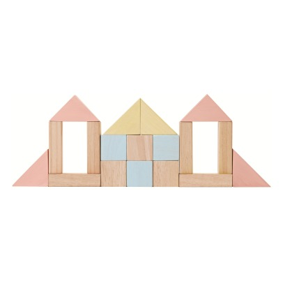 Plan Toys Blocs de construction pastel-listing