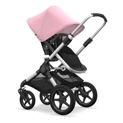 Bugaboo FOX Convertible Complete Pushchair with Aluminium Frame, Black Seat and Black Carrycot-listing