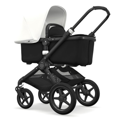 Bugaboo FOX Convertible Complete Pushchair with Black Frame, Black Seat and Black Carrycot-listing