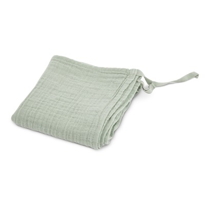 Moumout Cotton Muslin Plaid Swaddle-listing