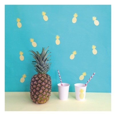 MIMI'lou Pineapples Stickers-listing