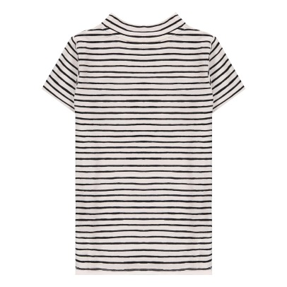 Soft Gallery Aulona Ebroidered Heart Striped T-Shirt-listing