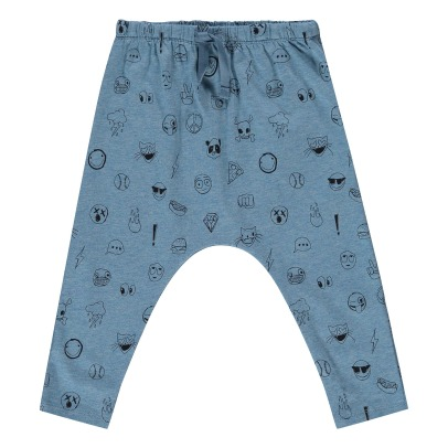 Soft Gallery Hailey Emoji Jersey Harem Trousers-product