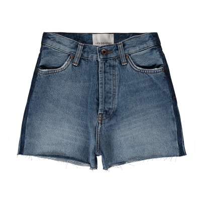 Les Coyotes de Paris Short in denim Vintage Kay -listing