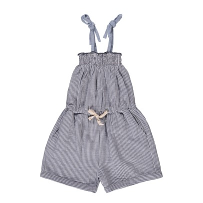 Buho Zoe Double Face Striped Playsuit-listing