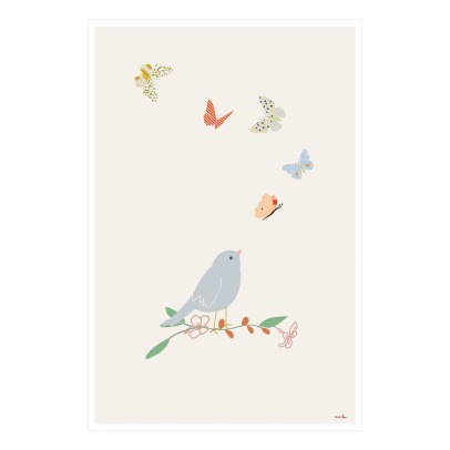 MIMI'lou Butterfly Poster-listing