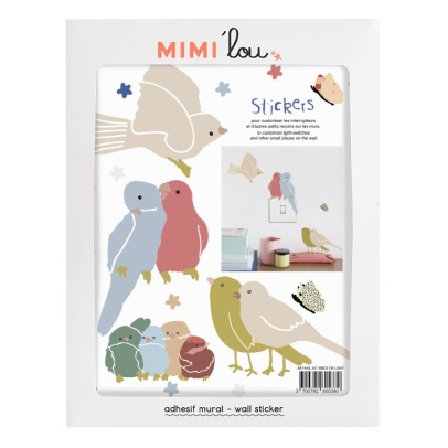 MIMI'lou Stickers Uccelli-listing