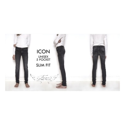 Finger in the nose Jeans Slim Ikon -listing