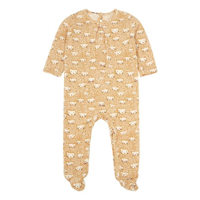 Soft Gallery Luna Cat Printed Footed Pyjamas-listing