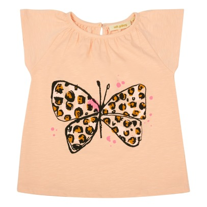 Soft Gallery Olivia Organic Cotton Leopard Butterfly Top-product