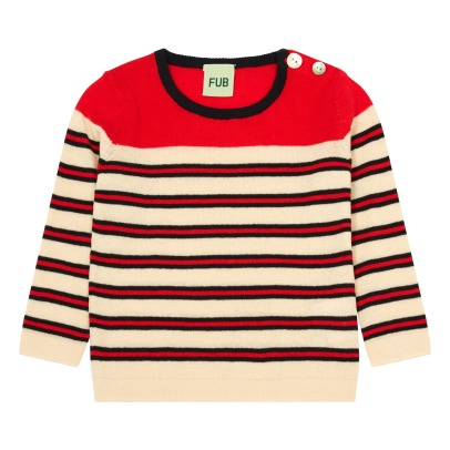 Fub Orgnaic Cotton Striped Jumper-listing