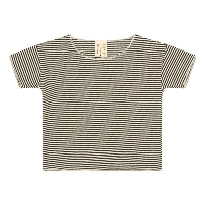 Gray Label Summer Organic Cotton Striped T-Shirt-listing