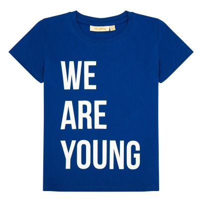 "Soft Gallery Tshirt ""We are young"" -listing"
