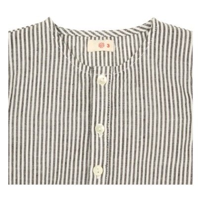 Ketiketa Kumar Striped Organic Cotton Kurta-listing