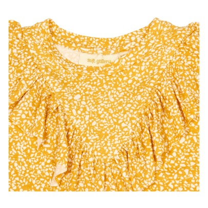 Soft Gallery Alissa Ruffle Printed T-Shirt-product