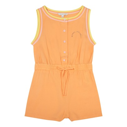 Little Marc Jacobs Viscose Playsuit with Elasticated Waist-product