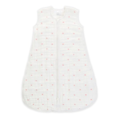 aden + anais  Pink Dot Mid-Season Baby Sleeping Bag-listing