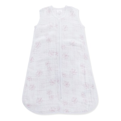 aden + anais  Pink Flower Light Baby Sleeping Bag-listing
