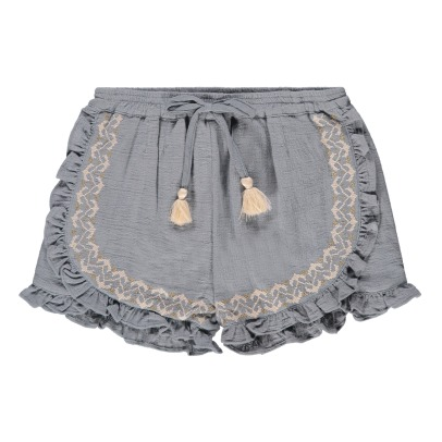 Louise Misha Taroudant Embroidered Shorts-product